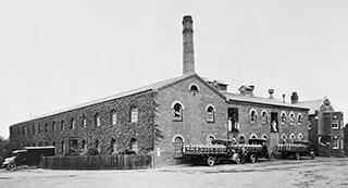 The Chandos Road Building when it was the Milk Factory