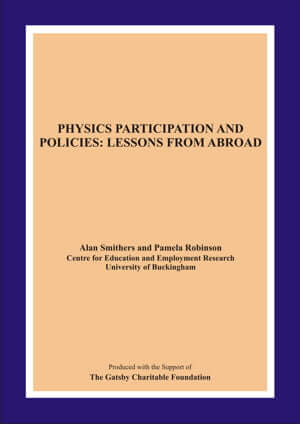 Physics participation and policies cover