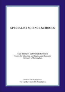 Specialist Science Schools cover