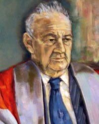 A painting of Professor Max Beloff