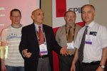 Buckingham representatives at SPIE 2010
