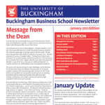 Business School Newsletter - January 2012 update