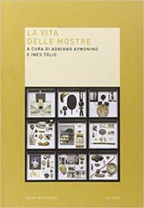 Book cover, La vita delle mostre