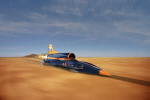 BloodhoundSSC on the Utah Flats