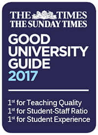 Times and Sunday Times Good University Guide 2017