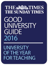 The Times & The Sunday Times Good University Guide 2016: University of the Year for Teaching