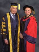 The Baroness Noakes with Sir Martin Jacomb