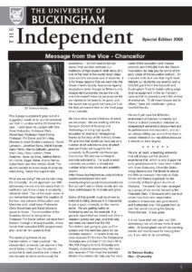 The Independent - Special Edition 2005