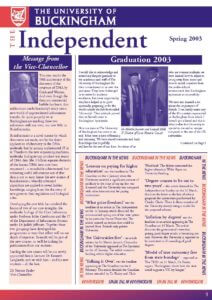 The Independent - Spring / Summer 2003