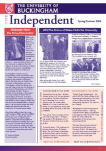 The Independent - Spring / Summer 2004