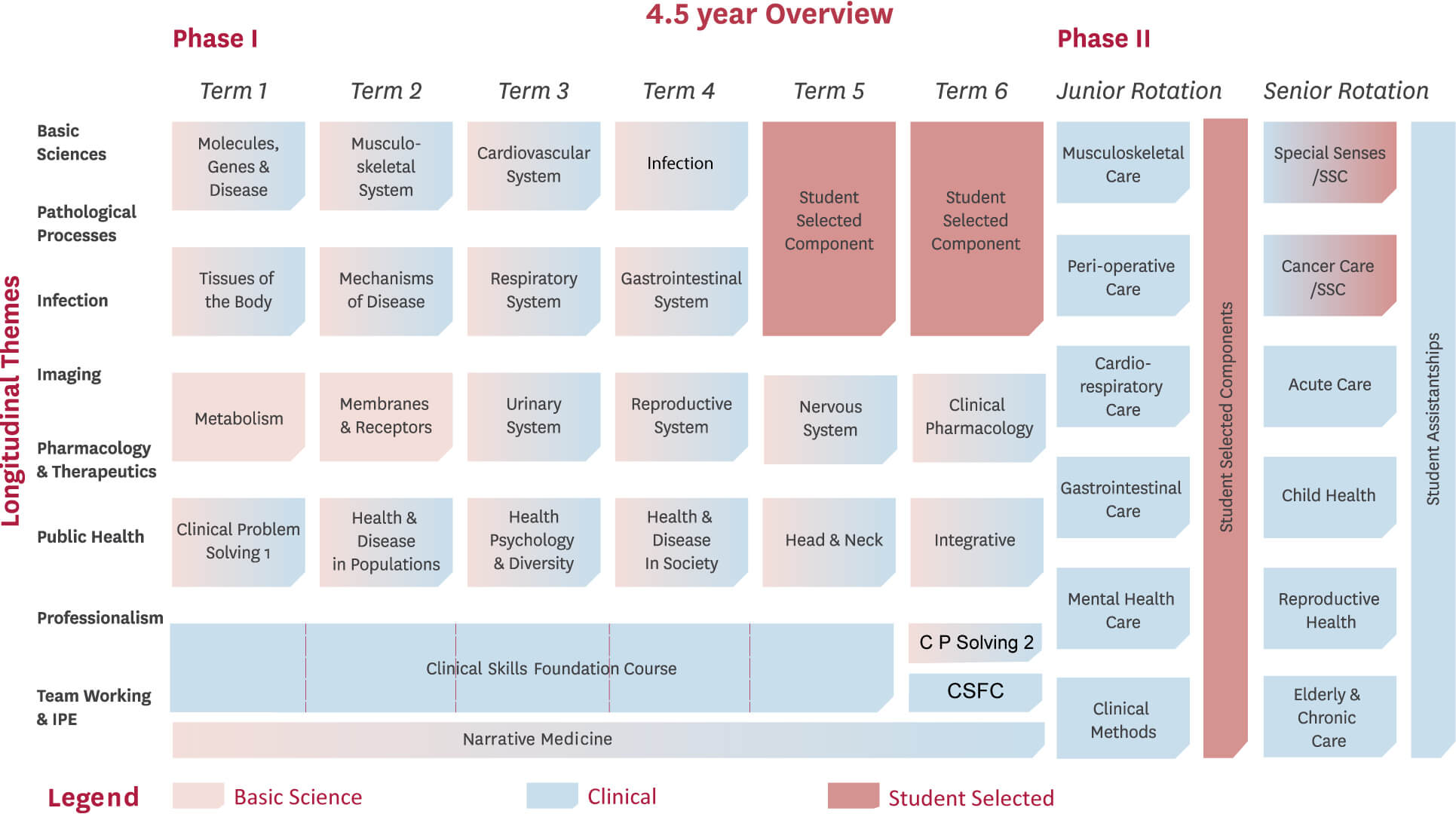 Medical School Course Overview