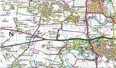 Stonehenge Uk Map.Field Work At Vespasian S Camp Near Stonehenge Wiltshire 2005 13
