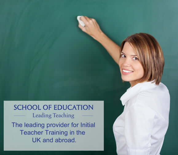 The leading provider for Initial Teacher Training in the UK and abroad