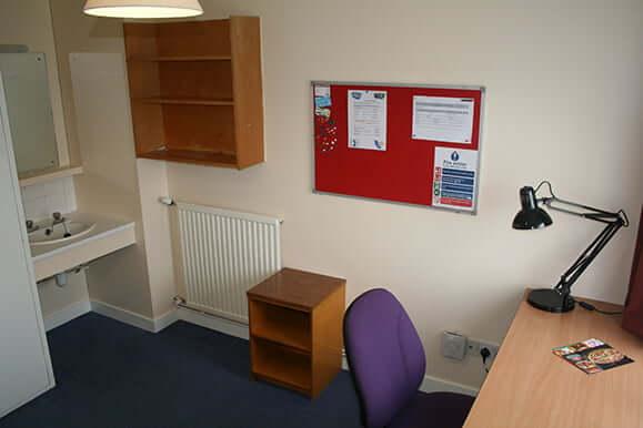 Caine House study area