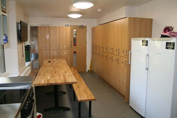 Hailsham kitchen and storage