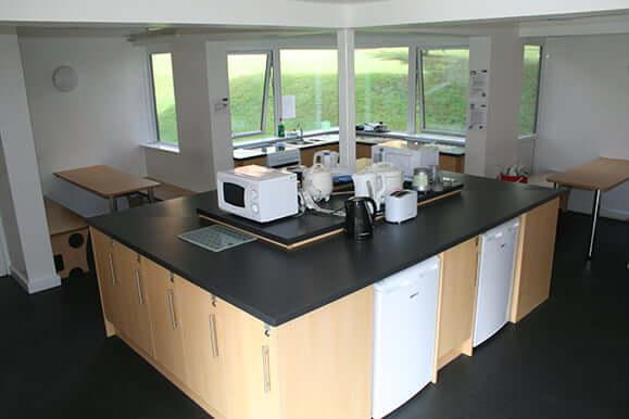 Harris House kitchen