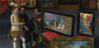 Flemish, Cognoscenti in a Room hung with Pictures(c) The National Gallery, London