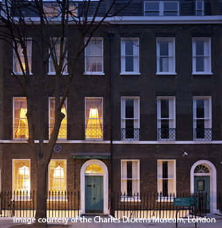 Charles Dickens Museum - interior and exterior photography