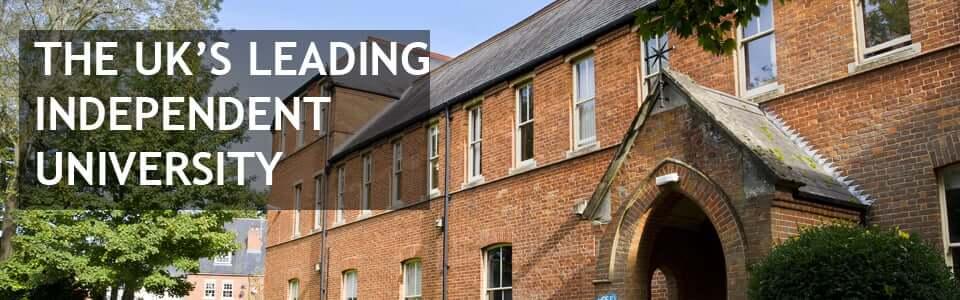 The UK's Leading Independent University