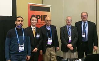 Buckingham delegates at SPIE