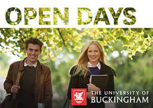 Open Days at the University of Buckingham