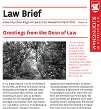 Law Brief - Issue 3 2018