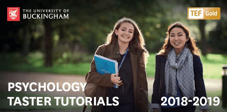 Psychology tutorials 2018-2019