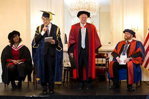 Professor Seligman honorary degree