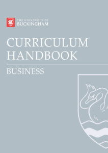Curriculum Handbook Business