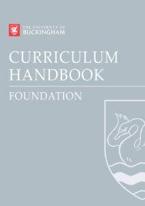Curriculum Handbook - Foundation