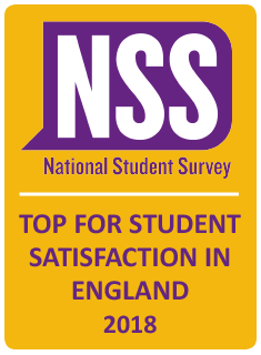 NSS badge 2018 - University of Buckingham