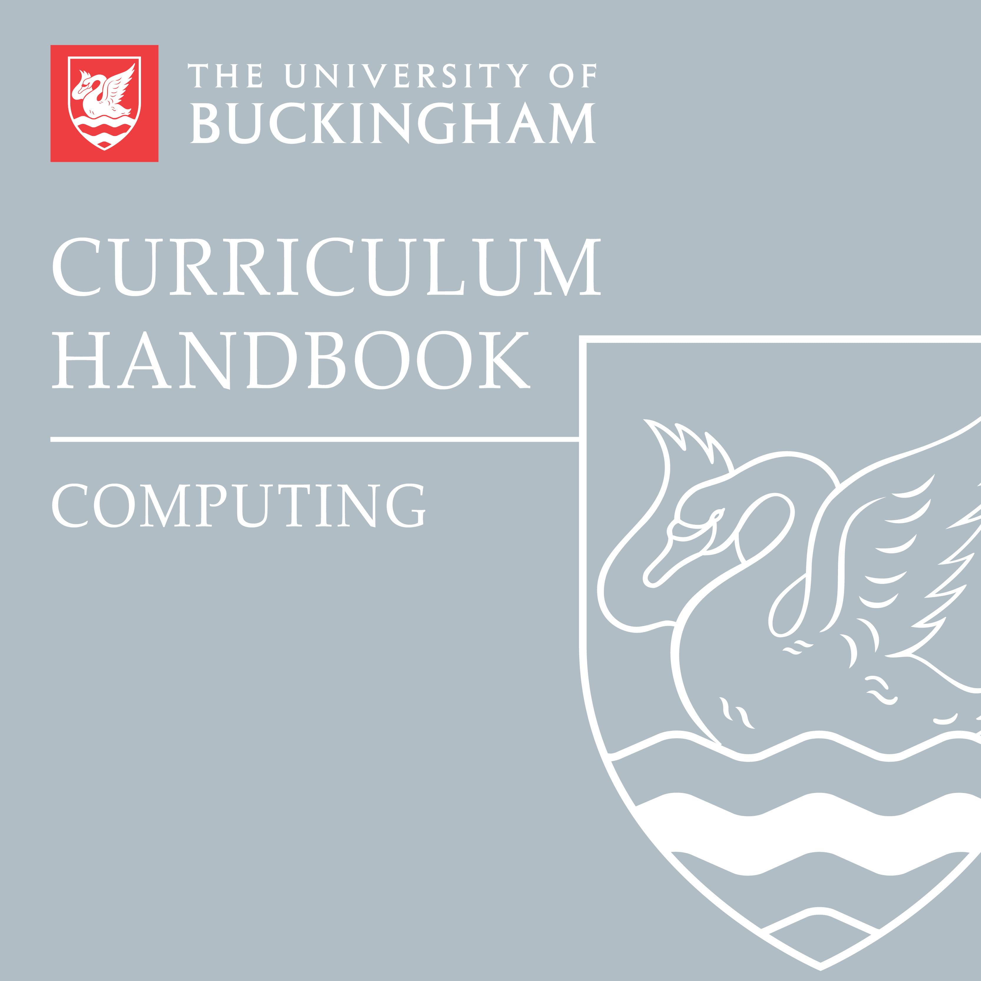 Curriculum Handbook - Computing - front cover - online