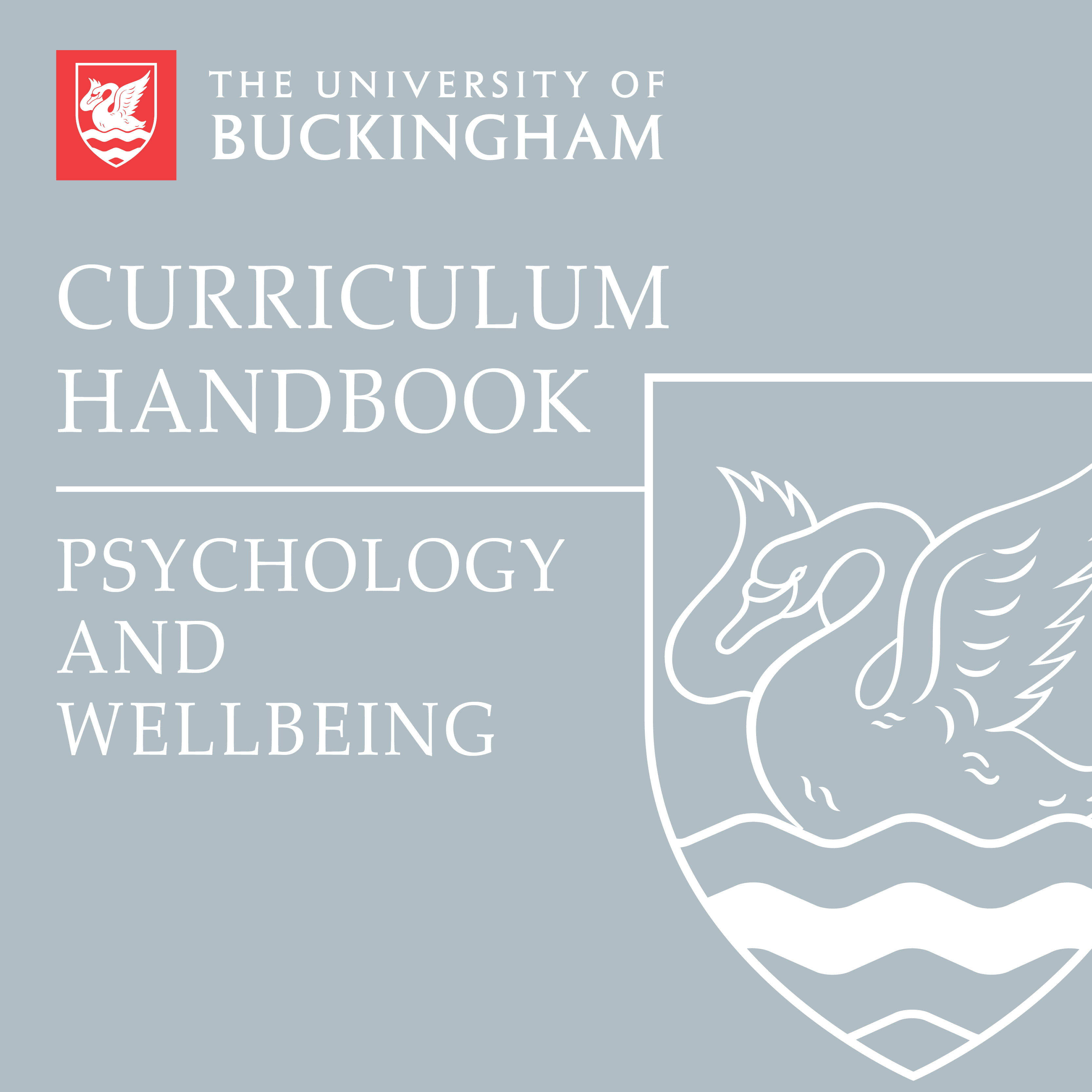 Curriculum Handbook - Psychology and Wellbeing - front cover - online