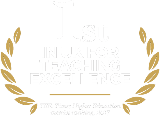 1st in uk for teaching excellence