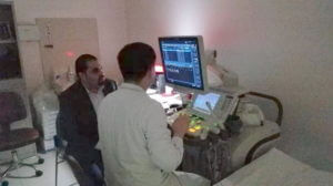 Dr Alaa AlZoubi with Doctors in Clinics 2