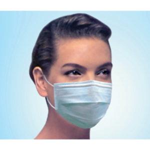 Blue Earloop Facemask