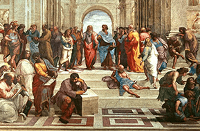 a painting of the school of athens by raphael