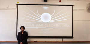 'Big Mathematics for Big Data', a seminar by University of Oxford Guest Speaker, Professor Vidit Nanda.