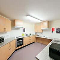 Booth Hall kitchen