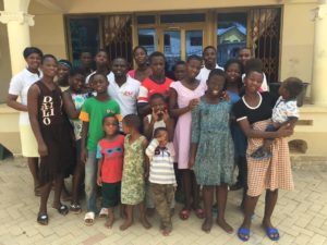 Members of a school in Ghana UBSOS raised money for