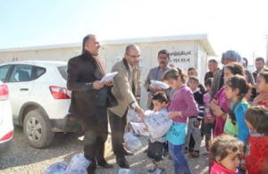 UBSOS syrian refugee project
