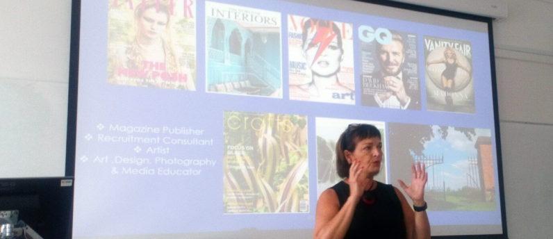 Sarah Davis discussing The Power of Design