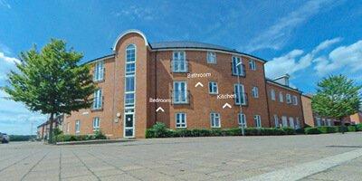 moreton road flats student accommodation exterior