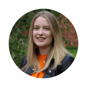 Georgina, Student Union PR Officer