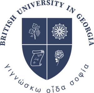 British University in Georgia Logo