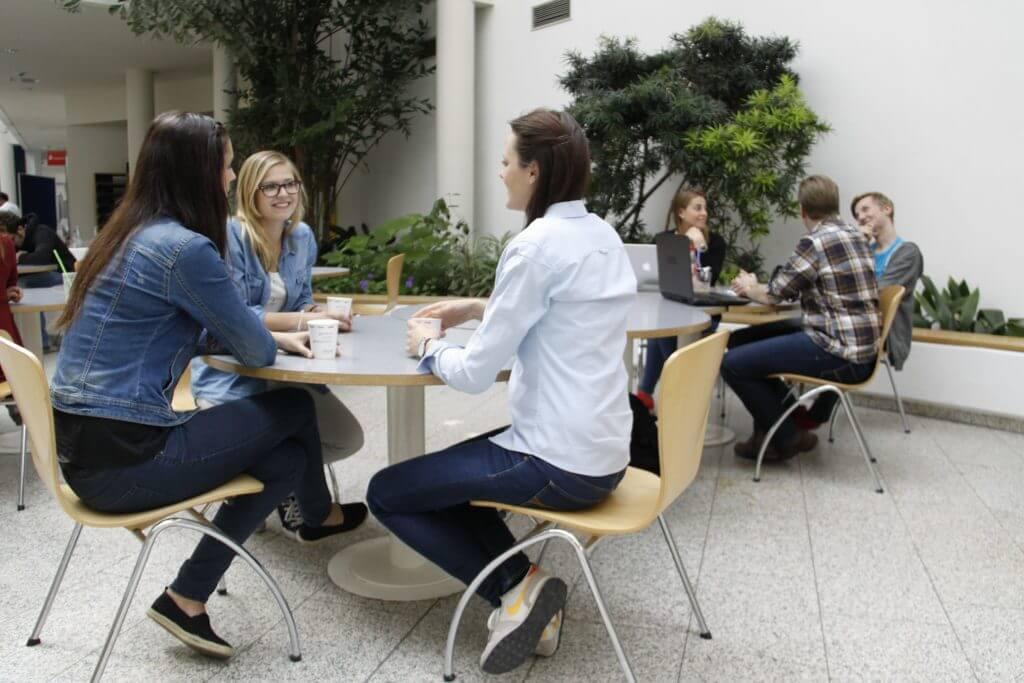 Witten/Herdecke University students socialising