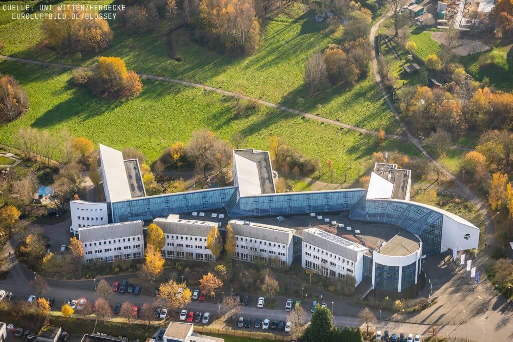 Witten/Herdecke University aerial view
